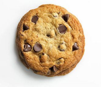 What are cookies on the internet - blog on web worx labs showing a picture of a giant chocolate chip cookie.